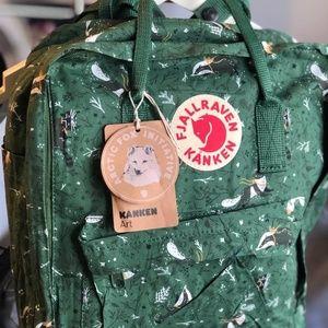 Fjallraven kanken backpack 16L green forest